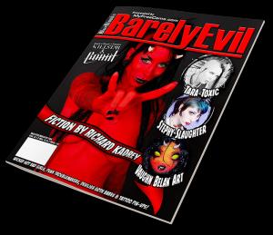 BarelyEvil Magazine Issue 1