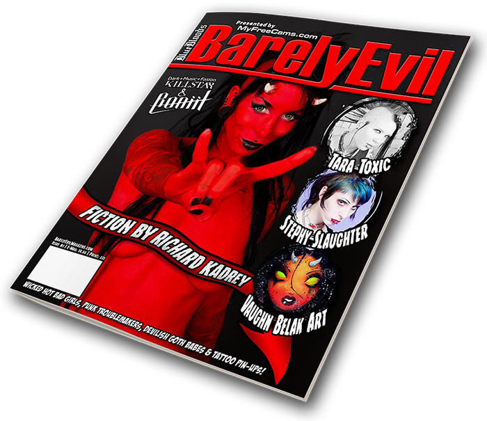 BarelyEvil Magazine Issue 1